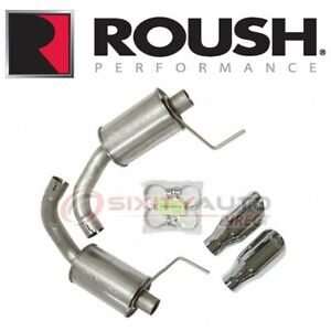Roush Performance Exhaust System Kit For 2015 2017 Ford Mustang 5 0l V8 Jt