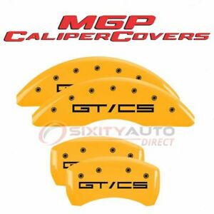 Mgp Caliper Covers Disc Brake Caliper Cover For 2015 2020 Ford Mustang Ri