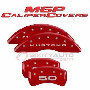 Mgp Caliper Covers Disc Brake Caliper Cover For 2015 2020 Ford Mustang Hv