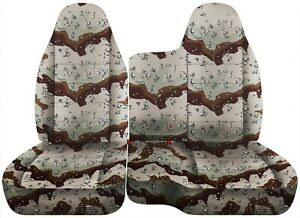 Front Set Car Seat Covers Fits Ford Ranger 1998 2003 60 40 Bench