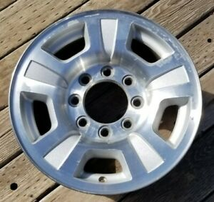 17 Chevy Silverado 2500 Gmc Sierra 8 Lug Factory Oem Alloy Wheel Rim 2007 2010