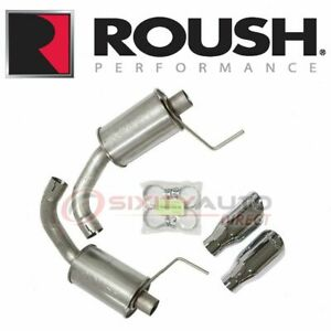 Roush Performance 421834 Exhaust System Kit For Tail Pipes Uh