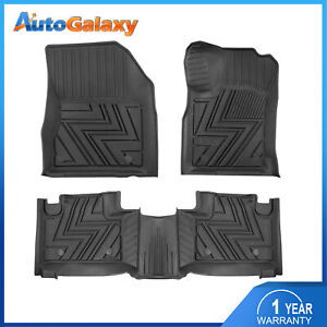 New Tpe Black Rubber Floor Mats Liners For 2013 2014 2015 Jeep Grand Cherokee