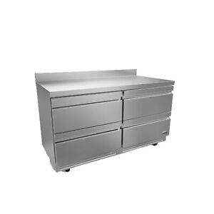 Fagor Refrigeration 61 Stainless Steel Worktop Refrigerator With Four Drawers