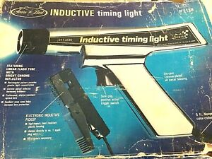 Vintage Sears Craftsman Inductive Timing Light In Box