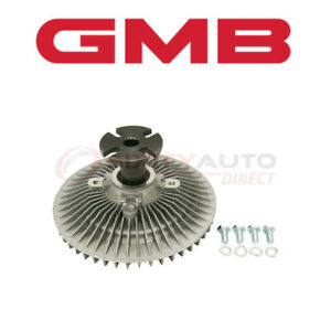 Gmb Cooling Fan Clutch For 1979 1982 Buick Riviera 3 8l 4 1l V6 Engine Ce