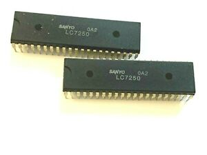 Lc7250 Original New Sanyo Integrated Circuit Free Shipping Within Us Lot Of2