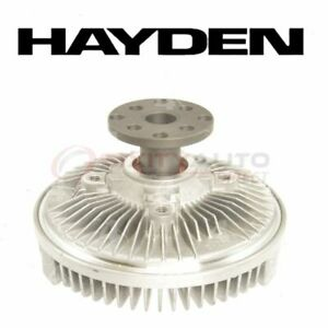Hayden Engine Cooling Fan Clutch For 1997 Ford F 250 Hd Belts Motor Mp