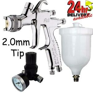 Devilbiss Flg 5 2 0mm Paint Air Spray Gun Air Pressure Regulator