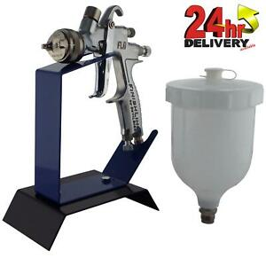 Devilbiss Flg 5 2 0mm Paint Air Spray Gun Bench Mount Stand
