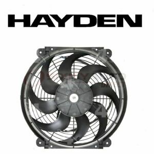 Hayden Engine Cooling Fan For 1981 2011 Lincoln Town Car Belts Clutch Th