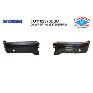 Fo1102373dsc New Replacement Rear Bumper End Fits 2010 2014 Ford F150 Svt Raptor