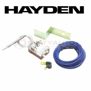 Hayden Engine Cooling Fan Controller For 1995 2000 Ford Contour Belts In