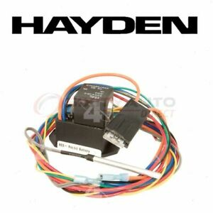 Hayden Engine Cooling Fan Controller For 2000 Saturn Ls1 Belts Clutch Ne