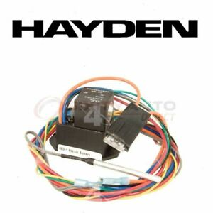 Hayden Engine Cooling Fan Controller For 2000 Saturn Ls2 Belts Clutch Gw