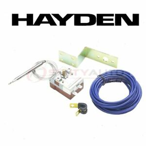 Hayden Engine Cooling Fan Controller For 2000 Saturn Ls Belts Clutch Motor Qj