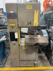 18 Grob Model ns18 Vertical Bandsaw Yoder 72631