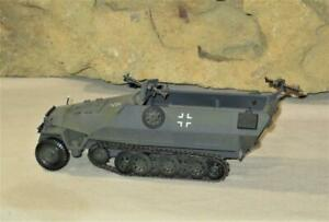 21st Century Ultimate Soldier WWII German Army Hanomag SDKFZ Vehicle 1 32 $49.00