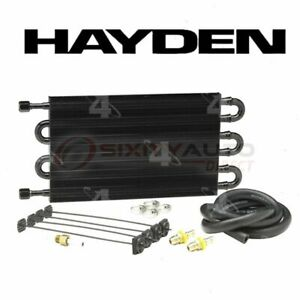 Hayden Automatic Transmission Oil Cooler For 2007 2015 Gmc Acadia Radiator Vi