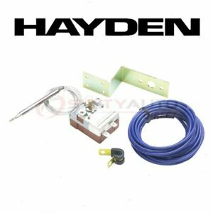 Hayden Engine Cooling Fan Controller For 1996 2000 Nissan Lucino Belts Ls