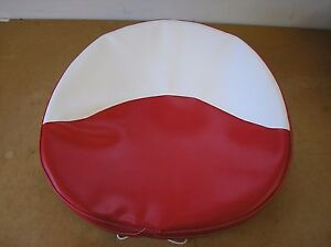 Farmall cub c H M 400 new Red White Pan Seat Cushion Cover 21 5 4