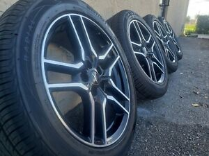 Oem 2020 Ford Mustang Eco Boost Set Of Wheels With Westlake Tires Great Cond