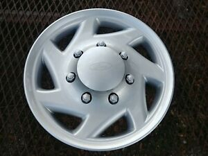16 New Hubcap Wheelcover Fits Ford Van 1 Replacement For F8ua1130aa H 7030