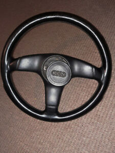 Audi 80 90 Rs2 S2 3 Spoke Leather Steering Wheel Genuine Made In Italy Nardi