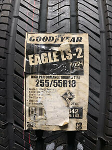 4 New 255 55 18 Goodyear Eagle Ls 2 Tires