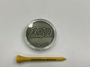 Snap on Tools New 100th Anniversary Collectible Coin Grey 1920 2020