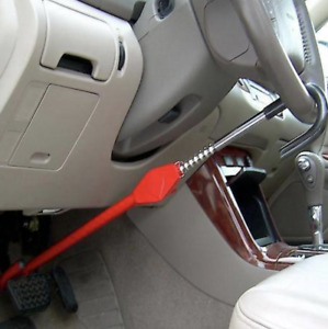 The Club Pedal To Steering Wheel Lock Vehicle Anti Theft Device Fits Most Cars