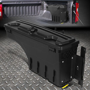 For 17 20 F250 F350 Super Duty Truck Bed Tool Storeage Wheel Well Lock Box Right