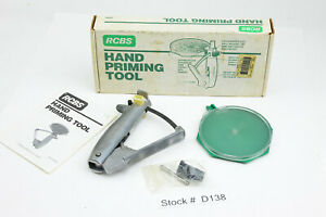 RCBS Hand Priming Tool for Large and Small Gun Primers for Reloading Ammo $84.98