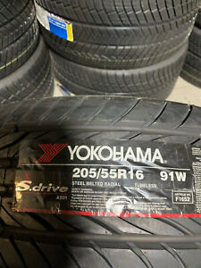 1 New 205 55 16 Yokohama S Drive Tire