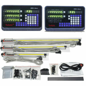 2 3 Axis Digital Readout Dro Ttl Linear Glass Scale Encoder Kits For Mill Lathe