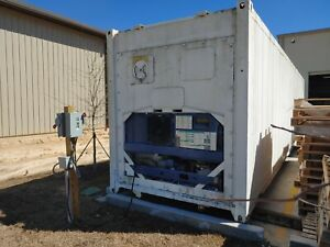 40 Reefer Shipping Container With Working Refrigeration Unit