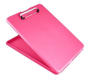 Saunders 00835 Pink Slimmate Storage Letter a4 Clipboard 1 25 X 9 5 X 12 75