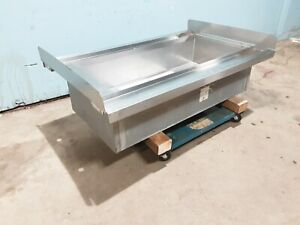 randell S s Double Sided Under Counter Bar Ice Bin With Cold Plate 6 In out