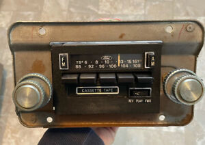 1980 Ford Am fm Cassette Stereo Radio Ford F150 Truck Xlt