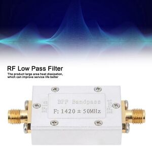 1420mhz Rf Low Pass Filter Lpf Filter Ham Radio Low Pass Filter Module 50 Ohm