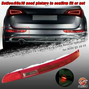 Us Edition Rear Tai Light Lamp Assembly Left Driver Side For Audi Q5 2010 2015