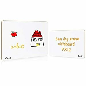Grope Small Dry Erase White Board For Students 9x12inches Lapwhiteboardkids Dual