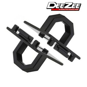 15 21 Ford F 150 Deezee Direct Fit Bed Cargo Tie Down Anchors Hooks Pair Black