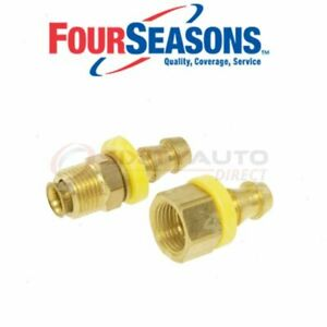 Four Seasons Oil Cooler Line Connector For 1971 Jeep Cj6 Automatic Py