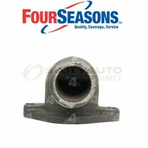 Four Seasons Engine Coolant Water Outlet For 1967 Ford Mustang Belts Sb
