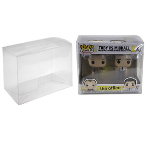 Plastic Box Protector Cases for Funko Pop 2 Pack or VYNL Figures Clear PET $8.99