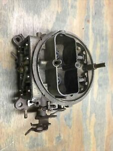 Holley Carburetor 600 Cfm List 6909 Main Body And Throttle Body Base Plate