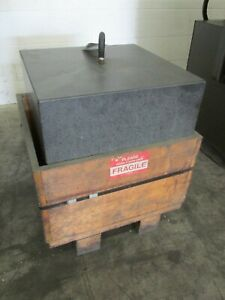 18 X 18 X 18 Granite Block Counter Weight Tool Grade Surface Plate 645 Lbs