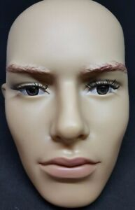 Male Head For Displaying Full Body Mannequins Life Size Realistic Face Head N4