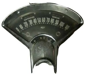 Old 1955 Chevy Speedometer Instrument Dash Cover